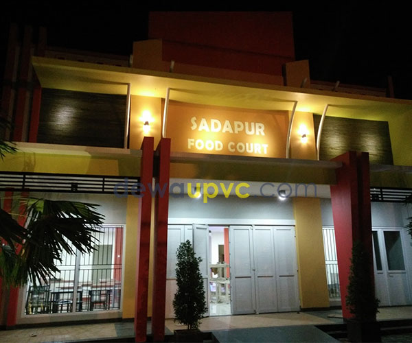 workshop pembuatan kusen UPVC -Bogor
